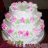 3 Tier Vanilla Wedding Cake-Delhi NCR