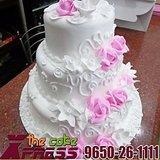 3 Tier Pineapple Designer Wedding Cake-Delhi NCR