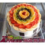 2 Kg Fresh Fruit Cake-Delhi NCR
