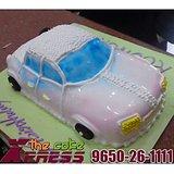 2 Kg Vintage Car Cake-Delhi NCR