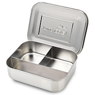3 Part Silver Lunch Box