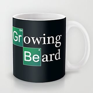 Astrode Growing Beard Mug