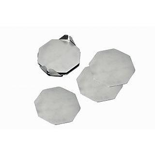Stainless Steel Hexagon Coaster