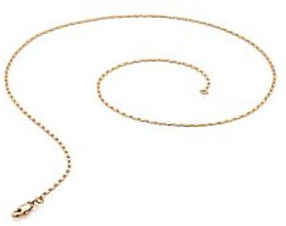 Voylla Gold Tone Chain For Men With Classy Oval Interlinks