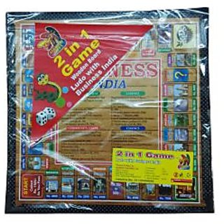Business with Stylish Ludo Game(Wooden Board)