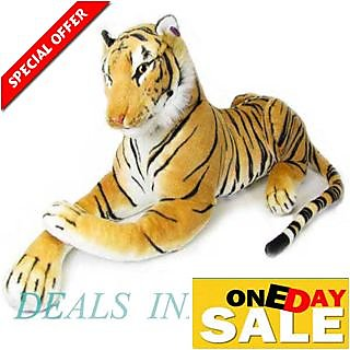 Giant Stuffed Tiger Animal 47 Cm