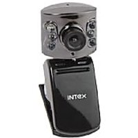 Intex WebCam 16 MP Web Camera With Mic, IT-305WC, Web Cam, 1 Year Warranty