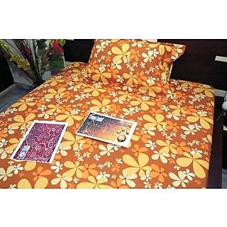 RICHHOME SINGLE BED SHEET WITH PILLOW PAIR