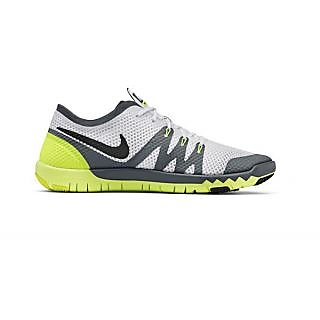 NIKE FLYWIRE 3.0 GREY YELLOW RUNNING SHOES