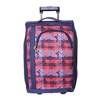 Cabin Laptop Trolley-Featherlite Travel Bag-Laptop-Polyester-Blue Bag-By Bagsrus