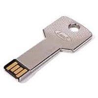 Microware Metal Key Shape Designer 4GB Facny Pen Drive - 74152528