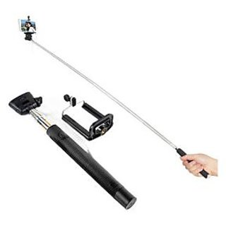 EI M-zone Extendable Selfie Stick With Aux Cable Hand Held Monopod