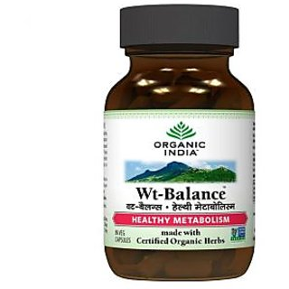 Organic India Weight Balance 60 Capsules Bottles