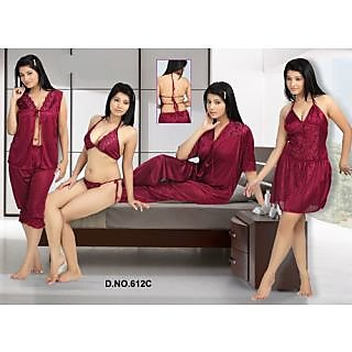 5c879940ac3 Set Of 6 PCs Nightwear 703 at Best Prices - Shopclues Online ...