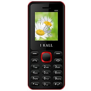 IKall K66 (1.8 Inch,Dual Sim, BIS Certified, Made in India)