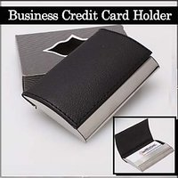 Credit / Debit Card Holder/Case with Leather finish