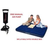 Intex Queen Size Double Bed Matress With Air Pump