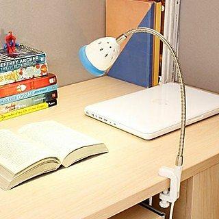 LED Clamp Light - Illumina - Cool White Light - Blue