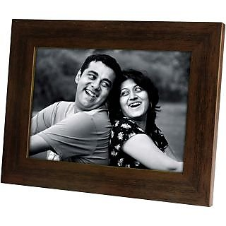 Single Picture Frame 5x7 Brown Landscape