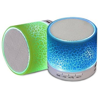 PREMIUM E COMMERCE Mini Music Bluetooth Speaker - Multicolor