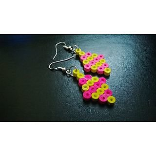 Quilling paper earring-fashionable cheapest hot deal