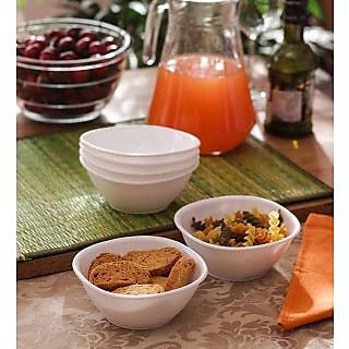 Serving Bowls - Incrizma 6 Pc Small Bowl(Katori) - White