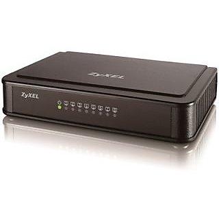 ZYXEL 8 Port Switch Es -108k Desktop Fast Ethernet Switch+3YRS COMPANY WARRANTY