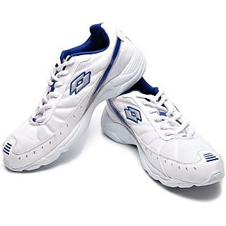 Lotto Men's White & Blue Running Shoes