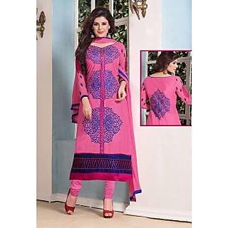 Pink Cotton Suit