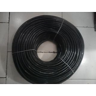 (.50 SQMM) 3 COREROUND CABLE BLACK (100 MTS)