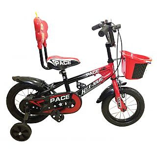 HLX-NMC KIDS BICYCLE 12 PACE RED/BLACK