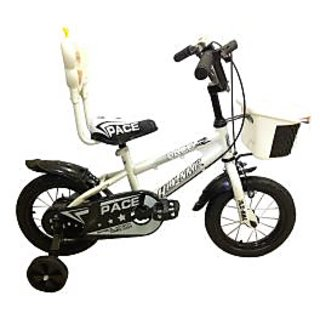HLX-NMC KIDS BICYCLE 12 PACE WHITE/BLACK