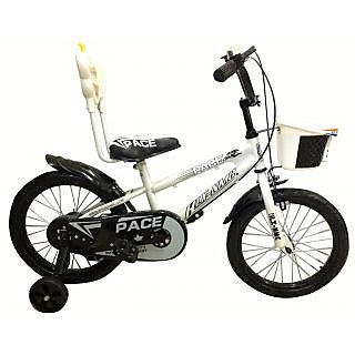 HLX_NMC KIDS BICYCLE 16 PACE WHITE/BLACK