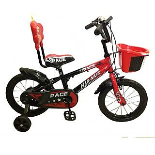 HLX-NMC KIDS BICYCLE 14 PACE RED/BLACK