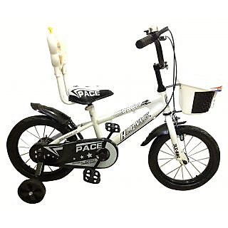 HLX-NMC KIDS BICYCLE 14 PACE WHITE/BLACK