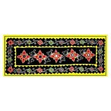 Traditional Velvet Wall Hanging With Mirror Work