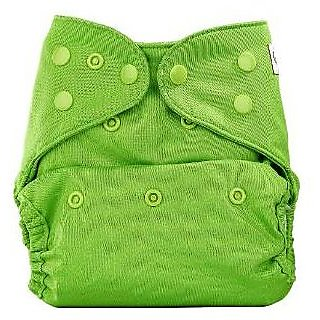 Bumberry Cloth Diaper Cover Green