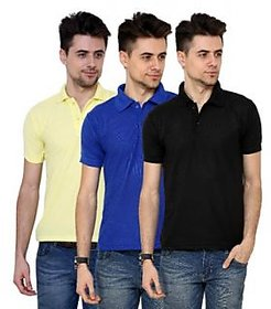 Grand Bear Pack Of 3 Polo T-Shirt For Men