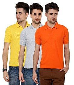 Grand Bear Pack of 3 Polo T-Shirt For Men