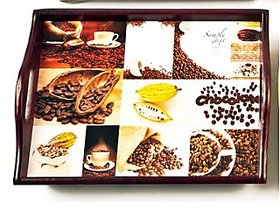 Importwalawooden Collage Lap Tray