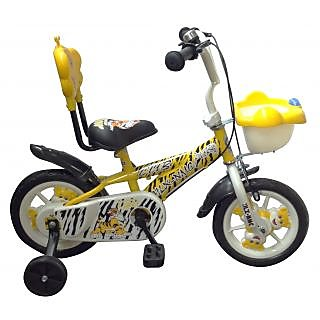 HLX-NMC KIDS BICYCLE 12 CUB YELLOW/WHITE