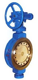 Butterfly Valve Wafer Type Multiple Layers Metallic Hard Sealing