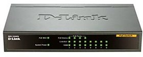 D-Link DES-1008PA 8-PORT DESKTOP SWITCH WITH 4 POE PORTS 63W for IP Camera Lowest Price In India