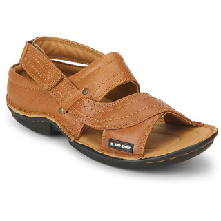 914731115 Men Red Chief Sandals   Floaters Price List in India on May