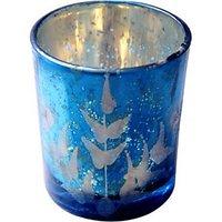AnasaDecor Tealight Holder Blue