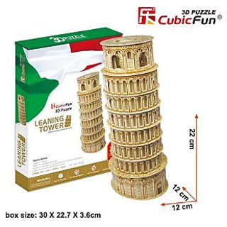 CubicFun 3D Puzzle Leaning Tower of Pisa 30 Pieces
