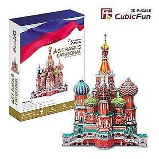 CubicFun 3D Puzzle St. Basils Cathedral 214 Pieces