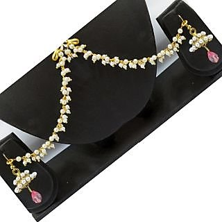 Supermart Non Plated White Jhumkis For Womens