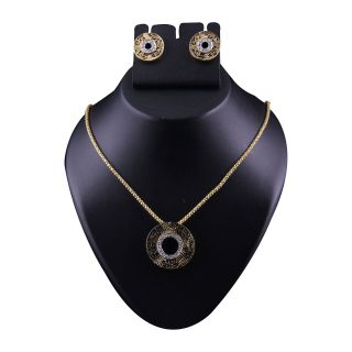Kriaa Gold Pendant Set  -  2102805