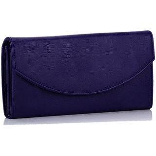 Meia Womens Dark Blue Color Wallet